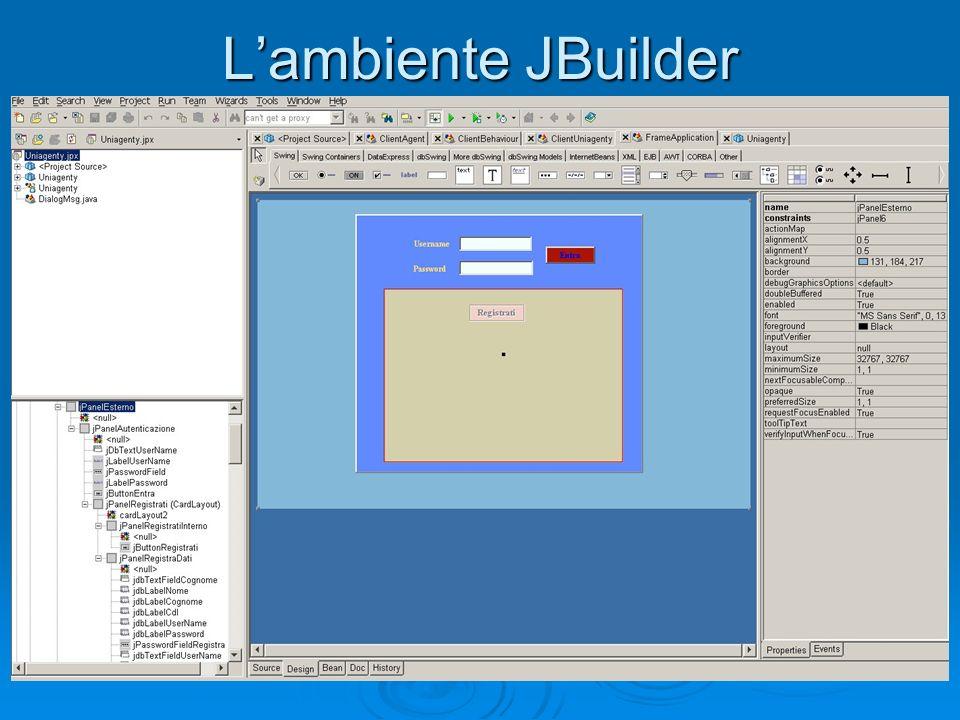 Lambiente JBuilder