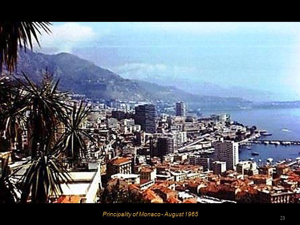 Principality of Monaco - August 1965 22