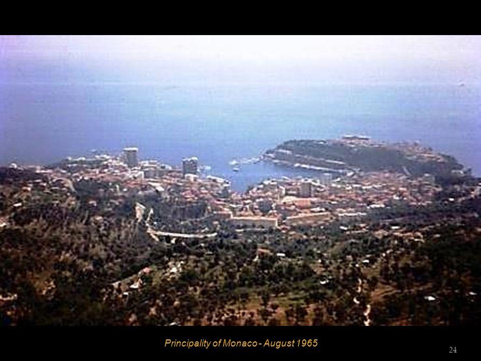 Principality of Monaco - August 1965 23