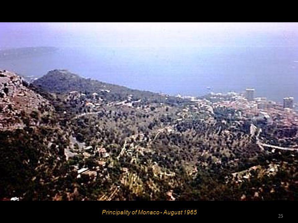 Principality of Monaco - August 1965 24