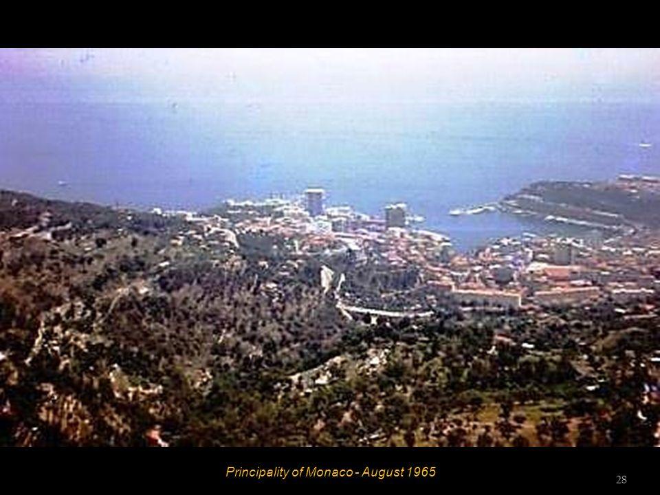 Principality of Monaco - August 1965 27