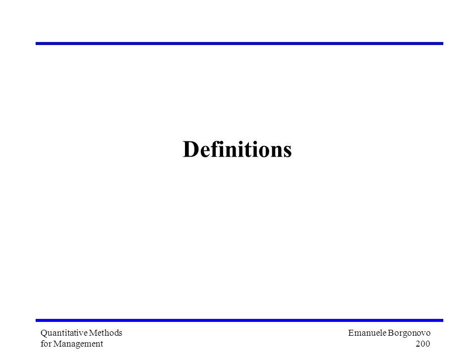 Emanuele Borgonovo 200 Quantitative Methods for Management Definitions