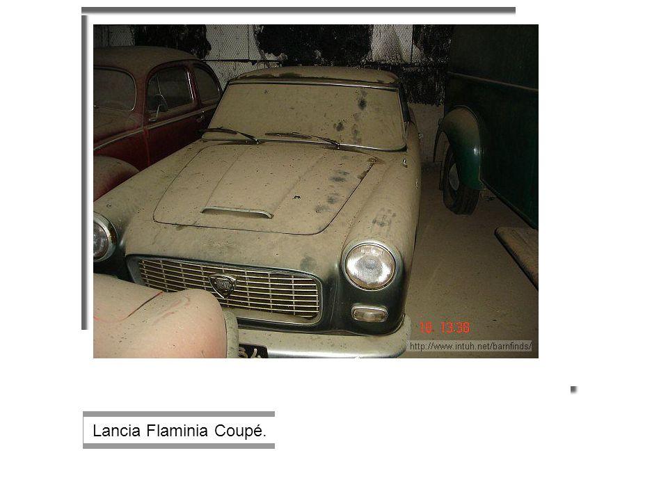 Lancia Flaminia Coupé.