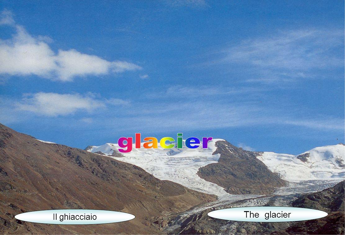 Il ghiacciaio The glacier