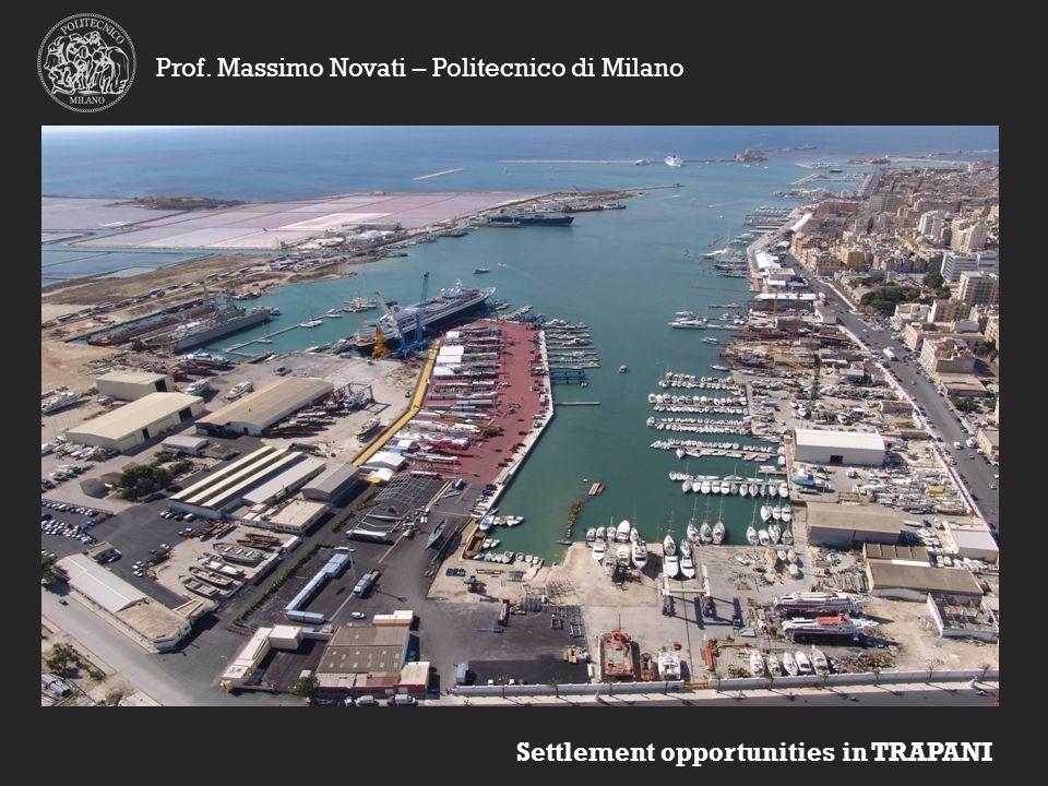 Settlement opportunities in TRAPANI Prof. Massimo Novati – Politecnico di Milano
