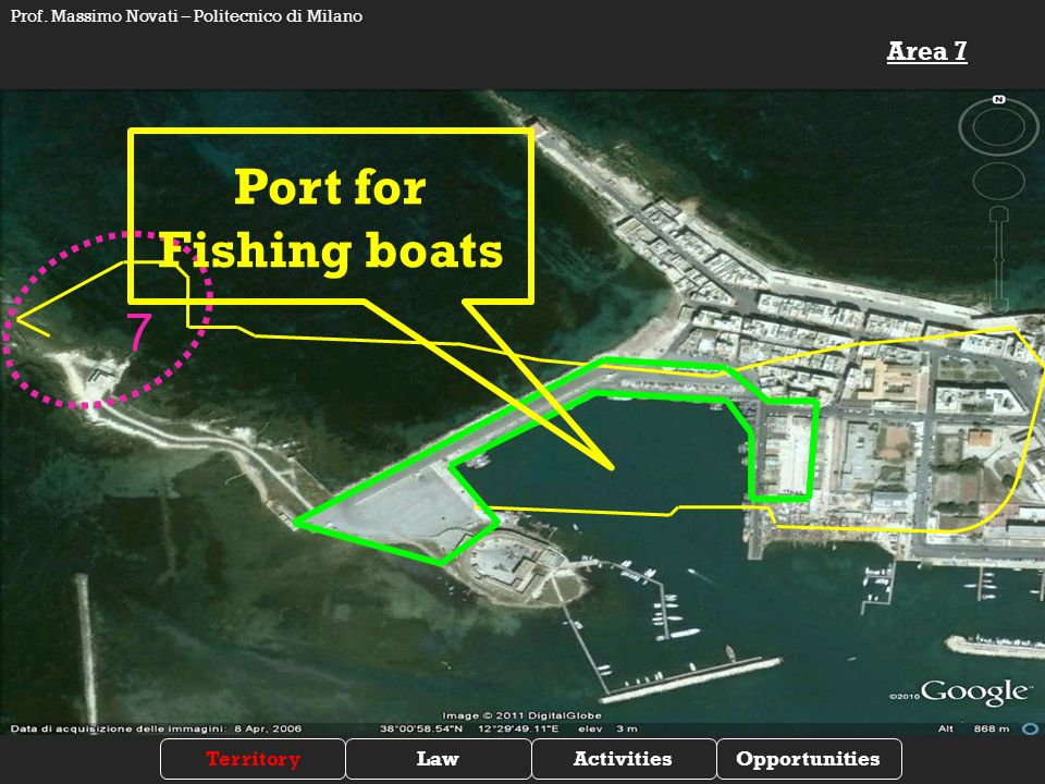 7 Port for Fishing boats Area 7 TerritoryLawActivitiesOpportunities Prof.
