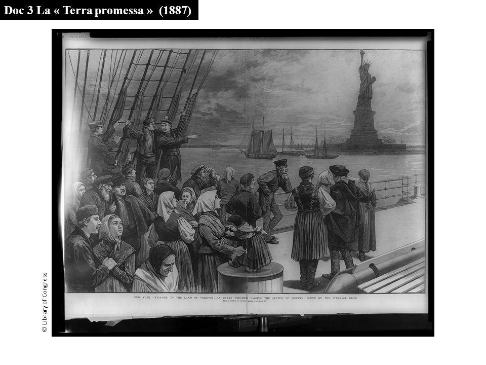 Doc 3 La « Terra promessa » (1887) © Library of Congress