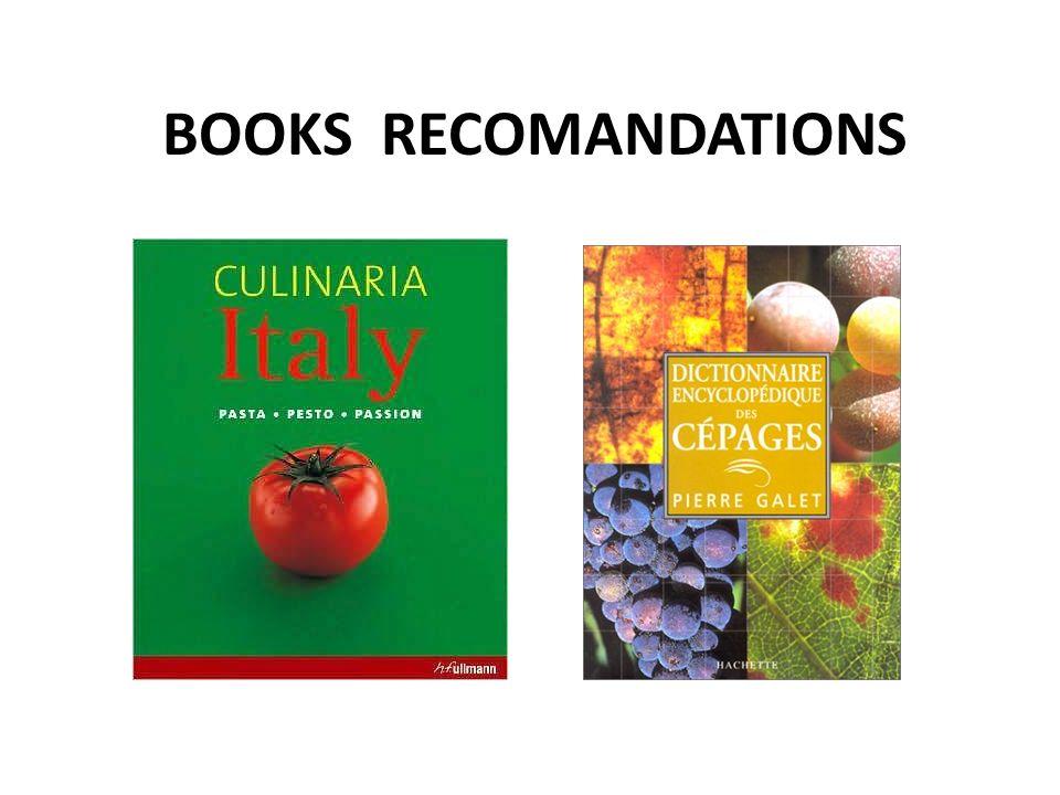 BOOKS RECOMANDATIONS