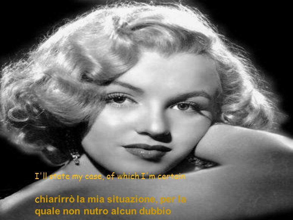My friend, I'll say it clear amico mio, lo dirai chiaramente