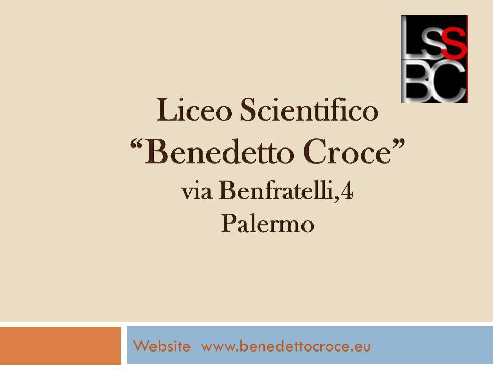 Website www.benedettocroce.eu