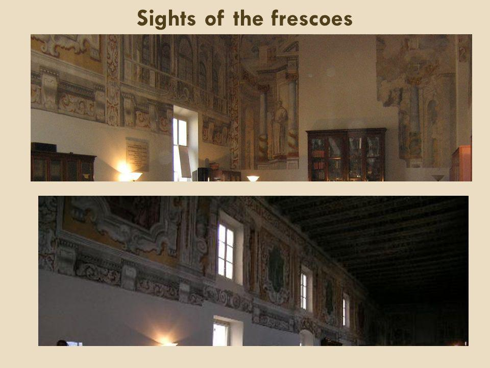 Sights of the frescoes
