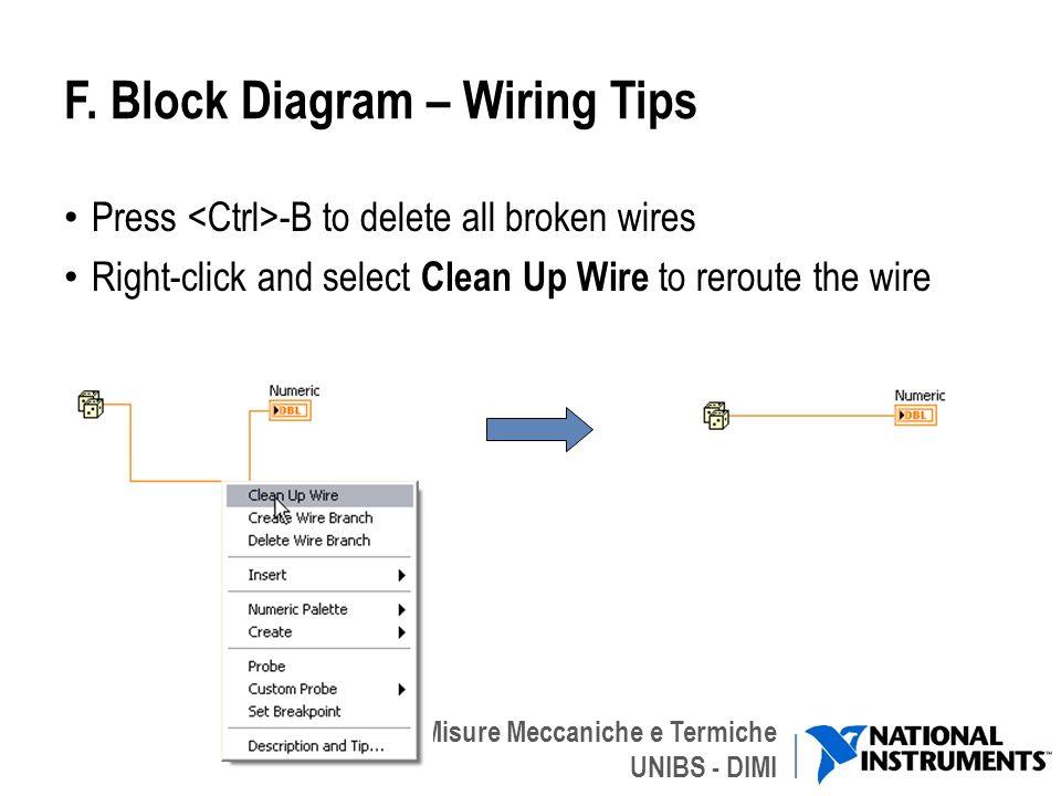 Gruppo di Misure Meccaniche e Termiche UNIBS - DIMI F. Block Diagram – Wiring Tips Press -B to delete all broken wires Right-click and select Clean Up