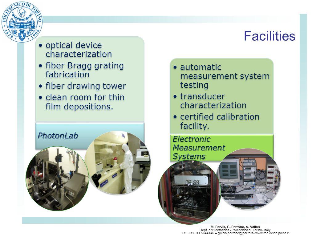 M. Parvis, G. Perrone, A. Vallan Dept. of Electronics - Politecnico di Torino - Italy Tel. +39 011 5644146 – guido.perrone@polito.it - www.fco.delen.p