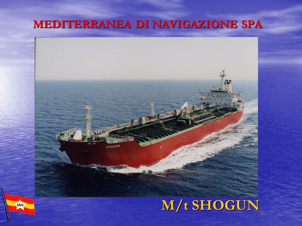 MEDITERRANEA DI NAVIGAZIONE SPA M/t SHOGUN