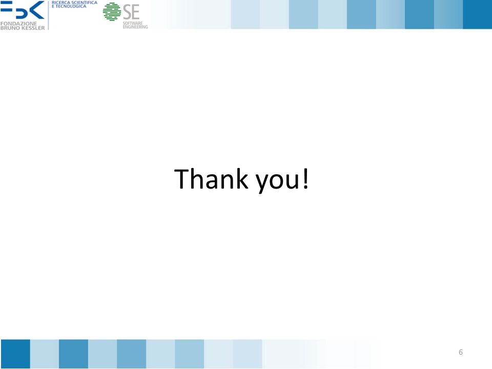 Thank you! 6