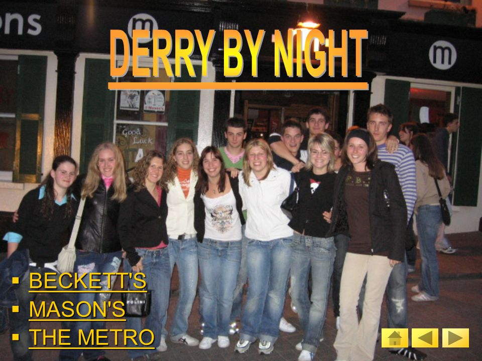 ORIGIN OF DERRY ORIGIN OF DERRY ORIGIN OF DERRY ORIGIN OF DERRY ST.