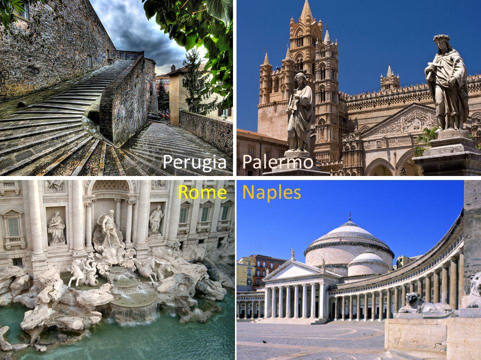 Perugia RomeNaples Palermo
