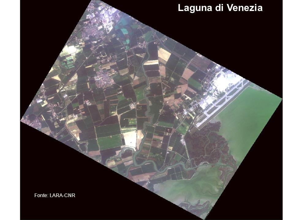 AMRA- Sezione di Telerilevamento Laguna di Venezia Fonte: LARA-CNR