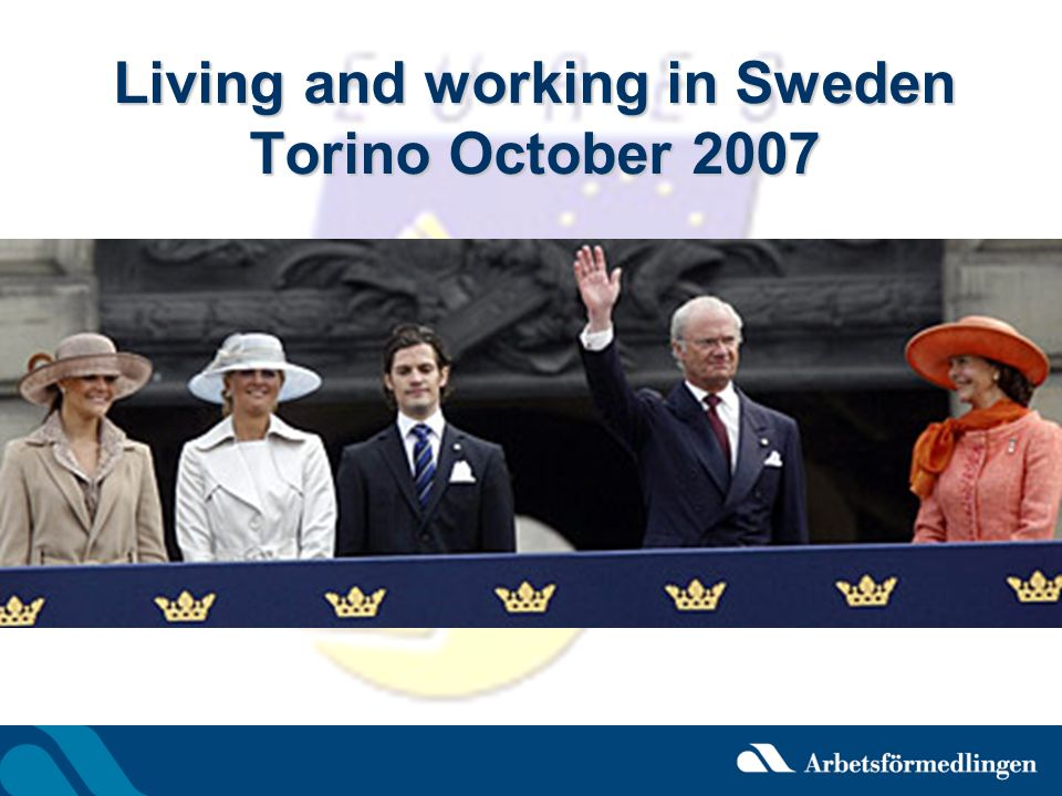 Applying for Work in Sweden E-mail is an accepted mode for applications.