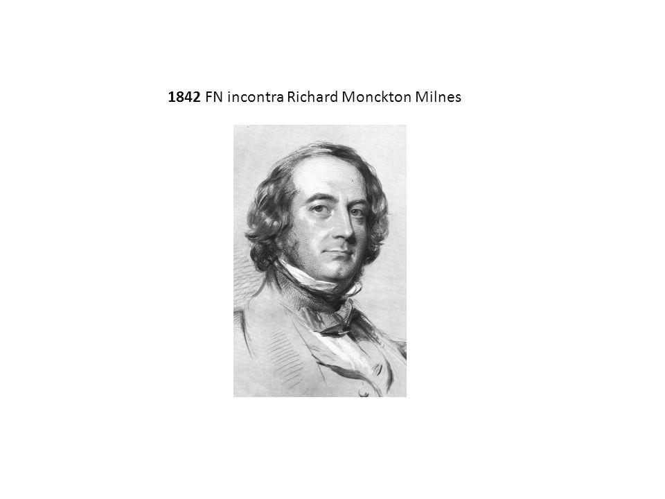 1842 FN incontra Richard Monckton Milnes
