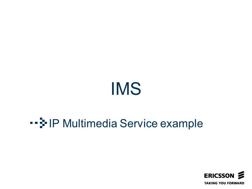 Slide title In CAPITALS 50 pt Slide subtitle 32 pt IMS IP Multimedia Service example
