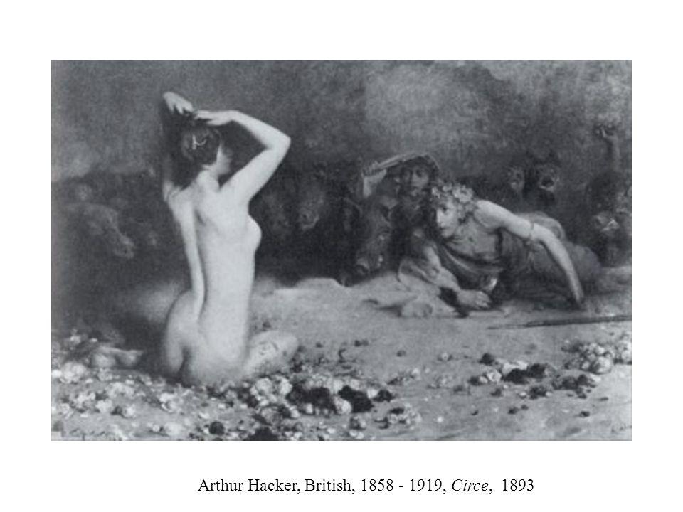 Arthur Hacker, British, 1858 - 1919, Circe, 1893