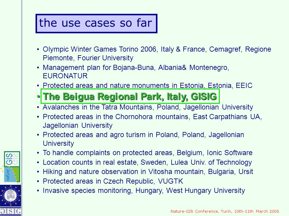 Olympic Winter Games Torino 2006, Italy & France, Cemagref, Regione Piemonte, Fourier University Management plan for Bojana-Buna, Albania& Montenegro,