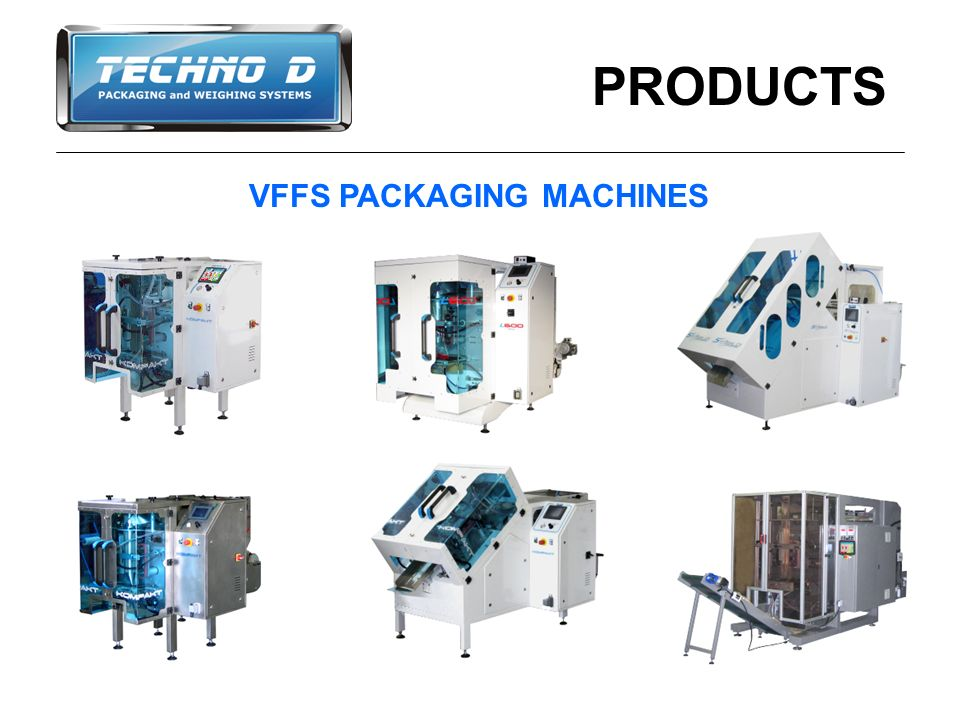 PRODUCTS VFFS PACKAGING MACHINES