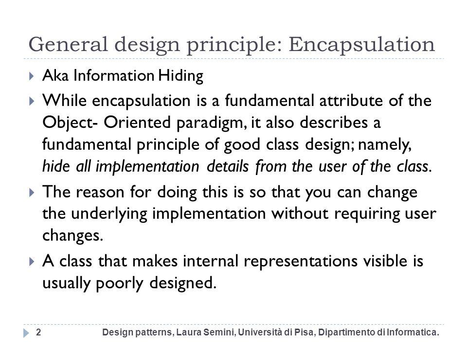 SOLID 3: Liskov Substitution Principle The Liskov Substitution Principle was described by Barbara Liskov at MIT.