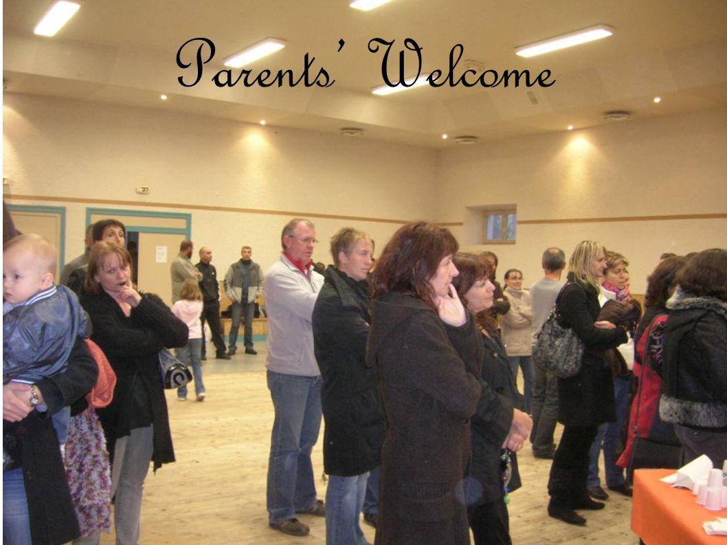 Parents Welcome