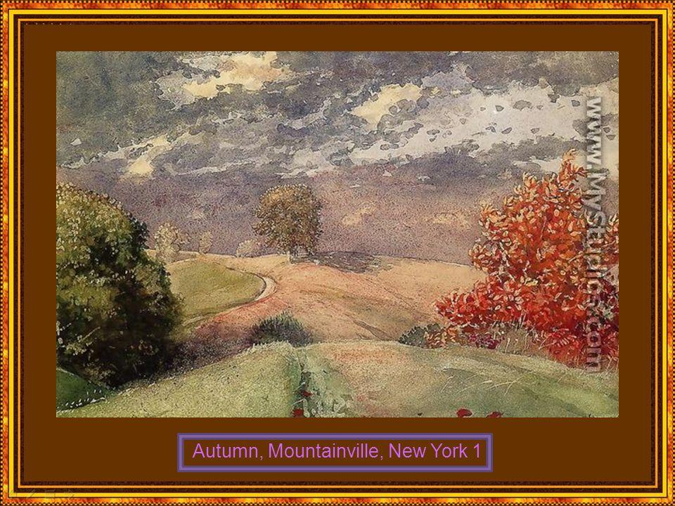 Autumn, Mountainville, New York