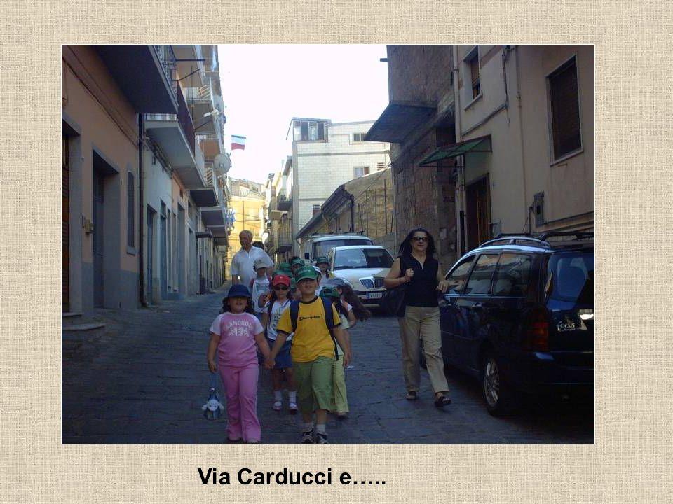 Via Carducci e…..