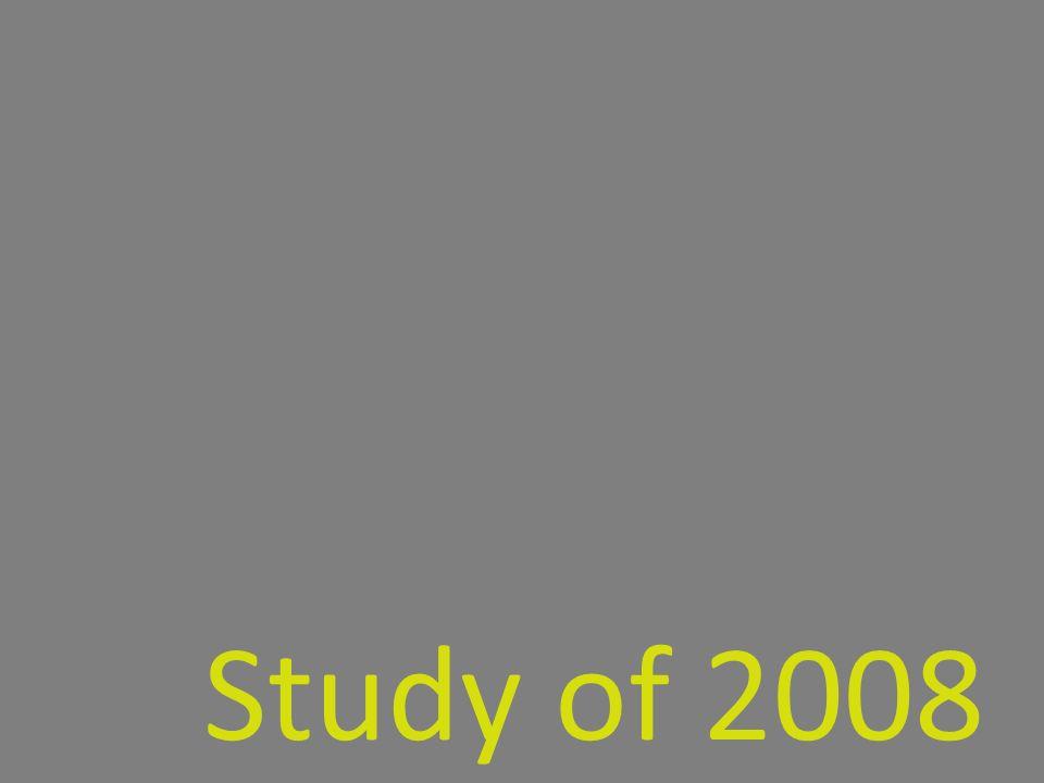 Study of 2008