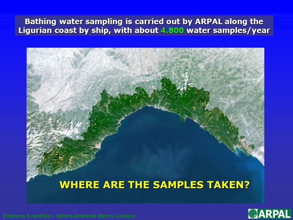 WHERE ARE THE SAMPLES TAKEN.