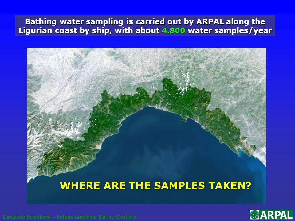 Direzione Scientifica – Settore Ambiente Marino Costiero SURFING APPLICATIONS zooming an area