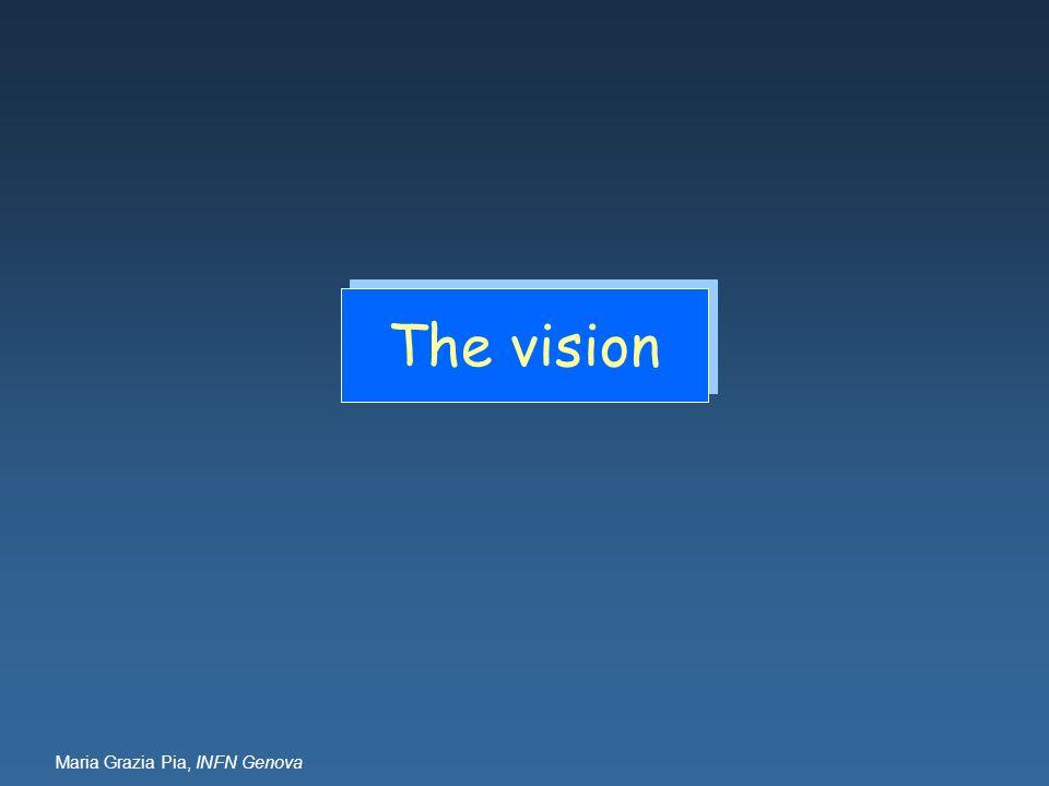 Maria Grazia Pia, INFN Genova The vision