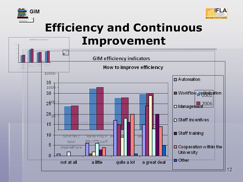 GIM 12 Efficiency and Continuous Improvement