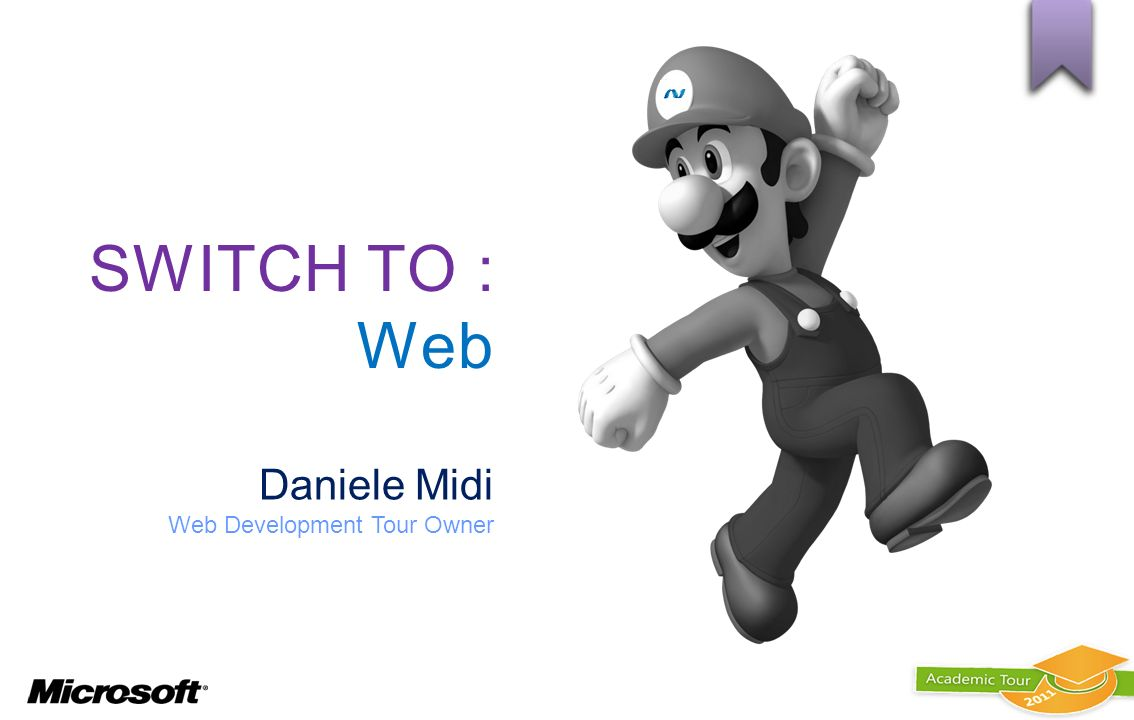 SWITCH TO : Web Daniele Midi Web Development Tour Owner