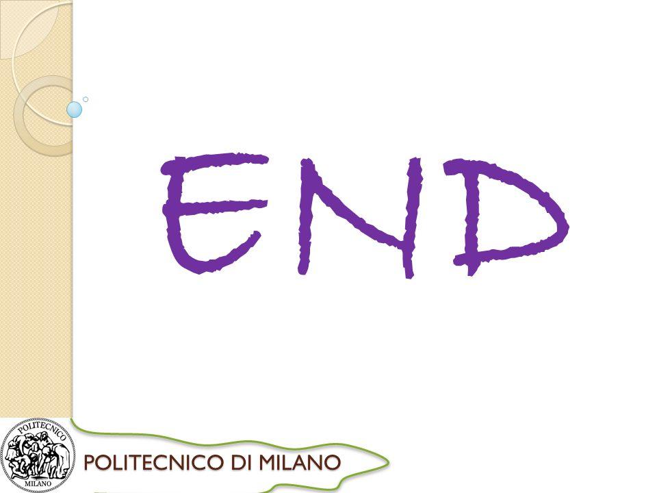 POLITECNICO DI MILANO END