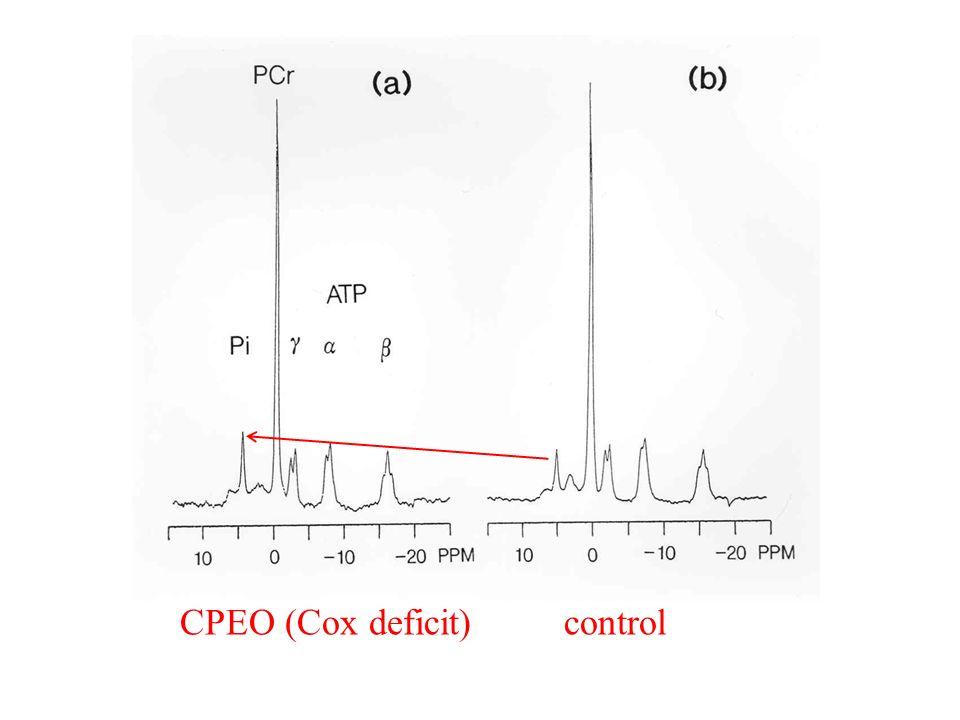 CPEO (Cox deficit)control