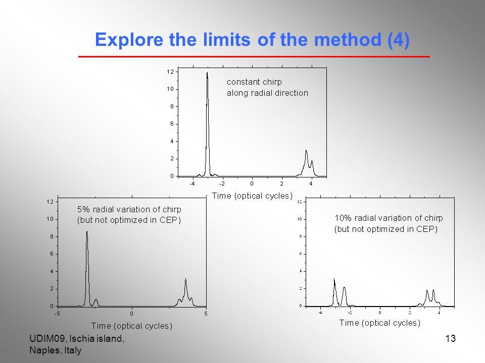 UDIM09, Ischia island, Naples, Italy 13 Explore the limits of the method (4)