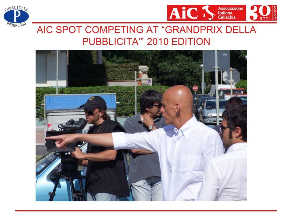 AIC SPOT COMPETING AT GRANDPRIX DELLA PUBBLICITA 2010 EDITION