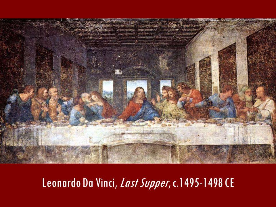 Leonardo Da Vinci, Last Supper, c.1495-1498 CE