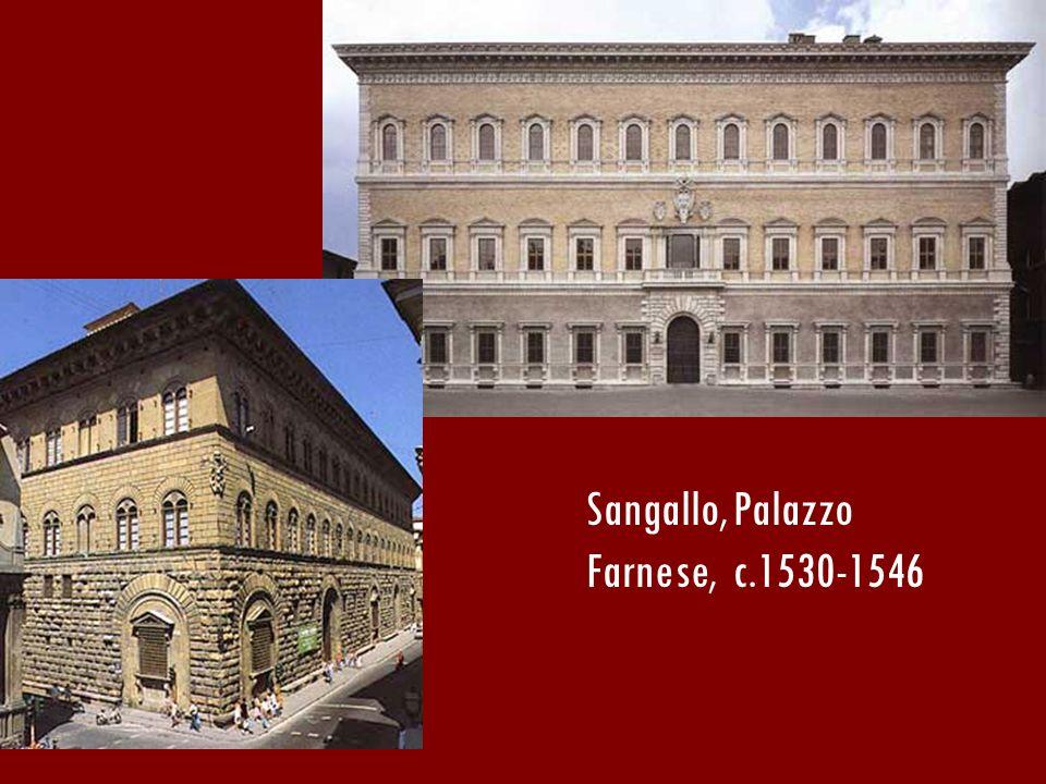 Sangallo, Palazzo Farnese, c.1530-1546
