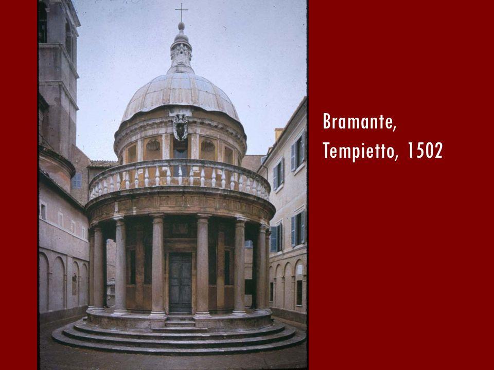 Bramante, Tempietto, 1502