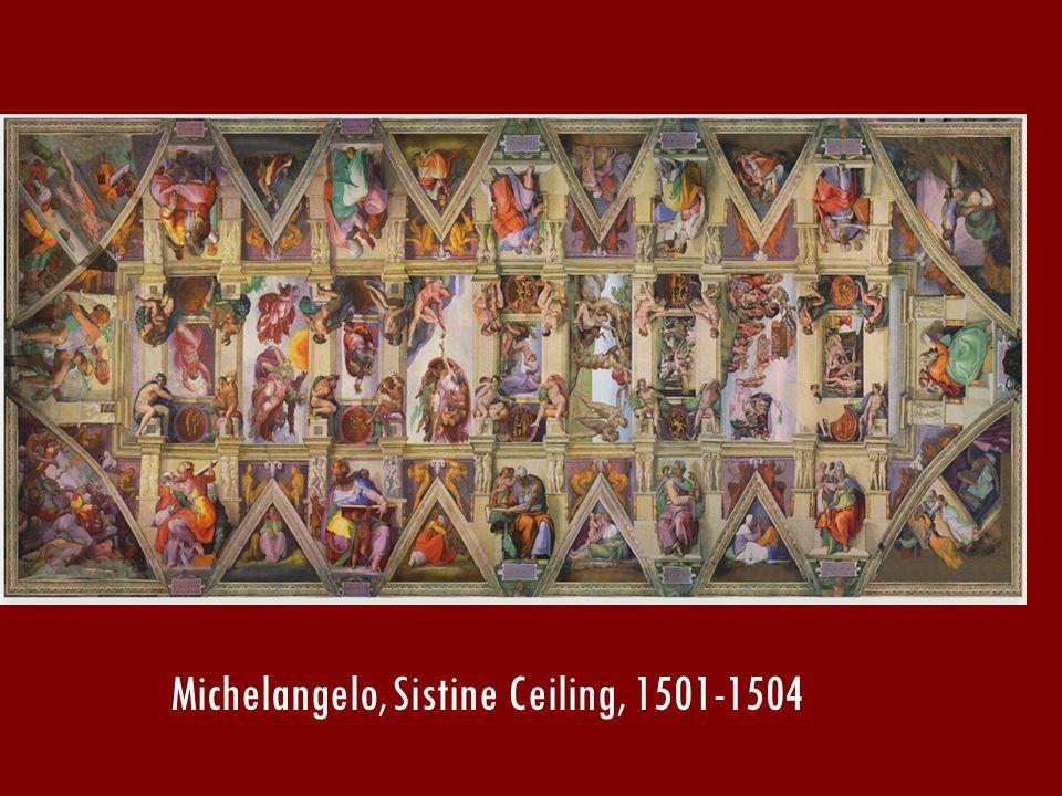 Michelangelo, Sistine Ceiling, 1501-1504
