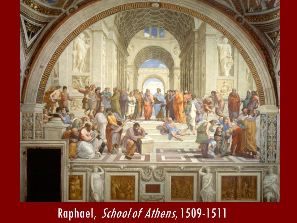 Raphael, School of Athens, 1509-1511