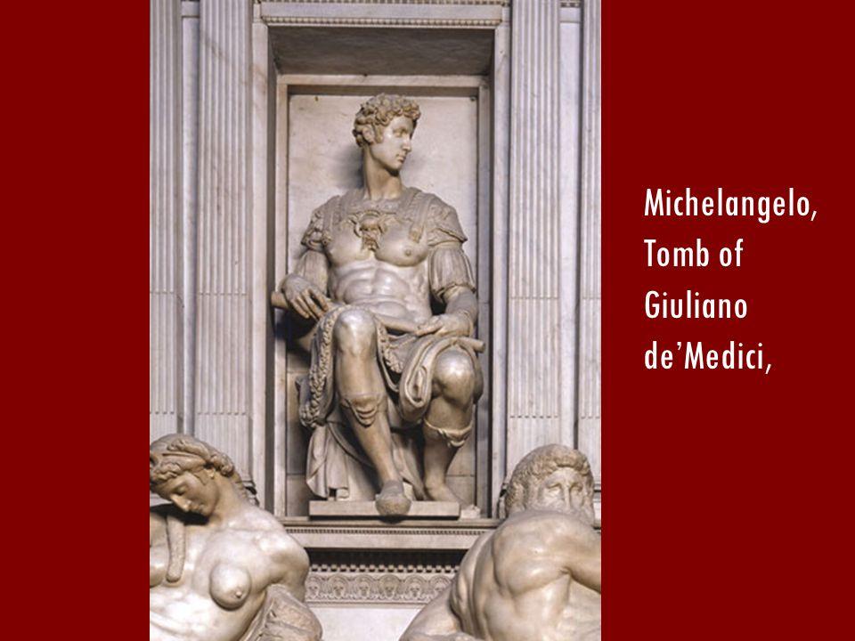 Michelangelo, Tomb of Giuliano deMedici,