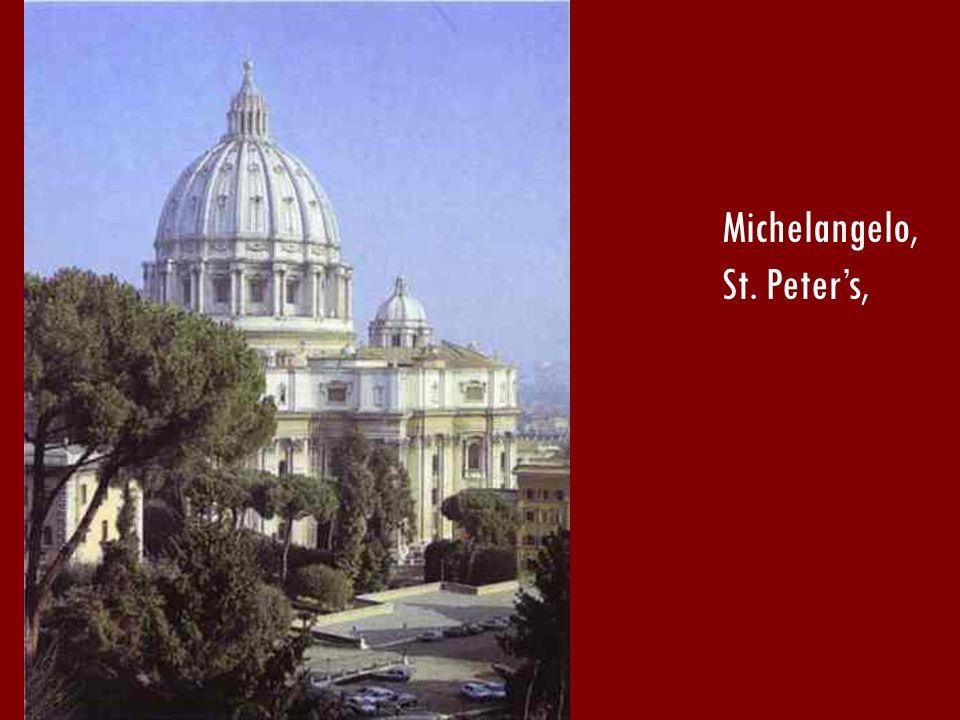 Michelangelo, St. Peters,