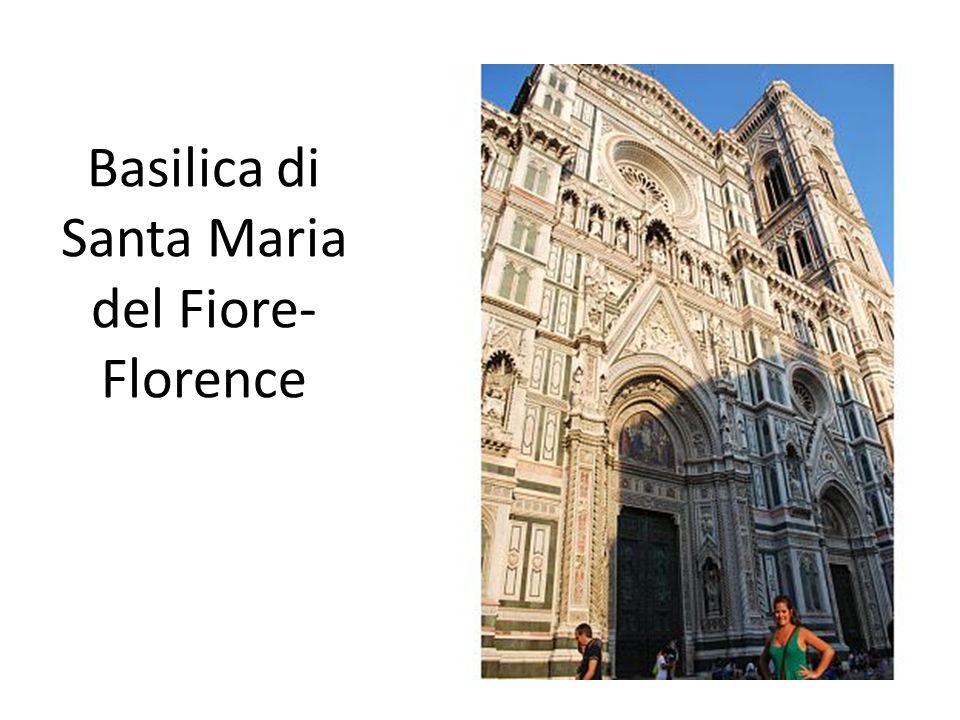 Basilica di Santa Maria del Fiore- Florence